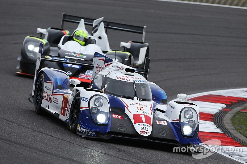Row-three start for Toyota Gazoo Racing