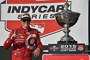 IndyCar Conteúdo especial Quatro títulos de Dixon na Indy em imagens