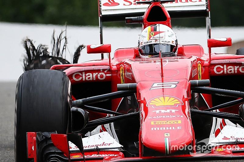 Les conclusions de Pirelli - 63 entailles décelées dans les pneus à Spa
