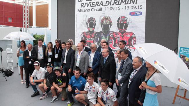 Presentato oggi all'EXPO 2015 il Gp di San Marino