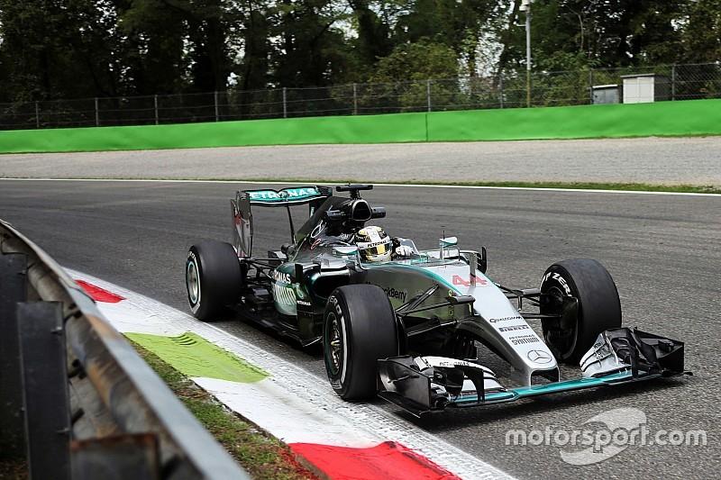 Hamilton vuelve a quedar adelante en la práctica final
