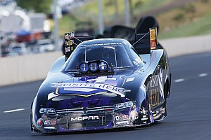 NHRA Qualifying report Dixon, Beckman, Anderson and Ellis claim no. 1 qualifiers at Indianapolis