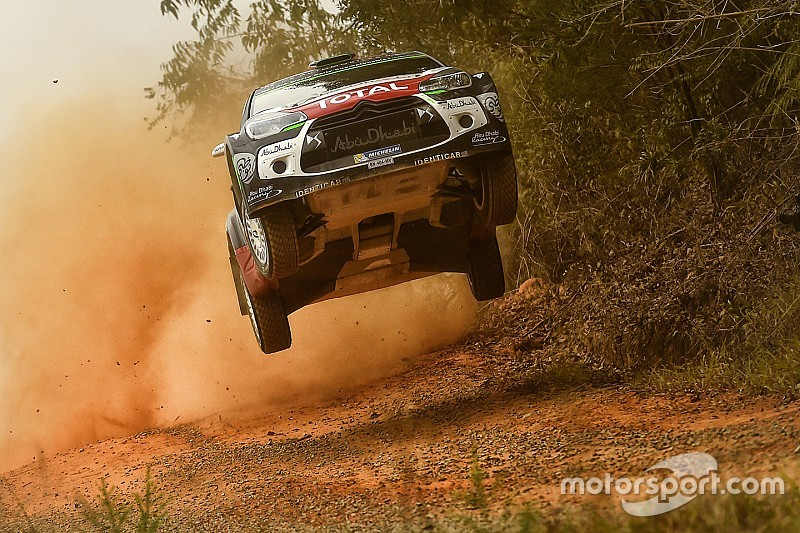 Kris Meeke two seconds off the pace