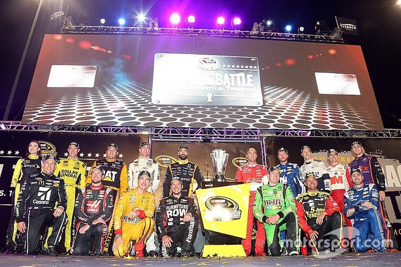 Un de ces 16 pilotes sera le champion 2015 NASCAR Sprint Cup