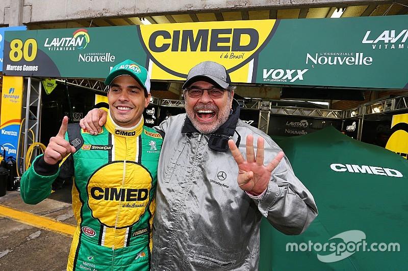 """Pai coruja, Paulão elogia Marcos Gomes: """"sabe do que precisa"""""""