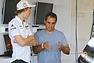خوان بابلو مونتويا نجم سباقات إندي كار يختبر سيارة بورشه إل إم بي1