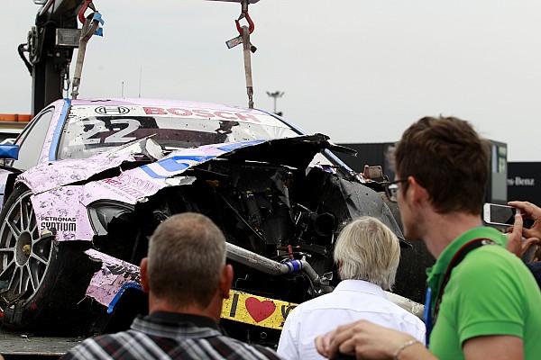 DTM Причиной аварии Ауэра стала механическая неисправность