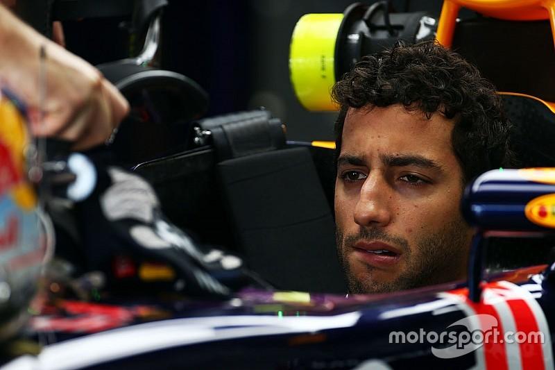 "Ricciardo - ""Heureux de voir Daniil OK"""