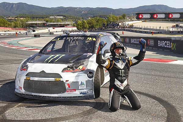 Dritter Saisonsieg für Petter Solberg in Barcelona