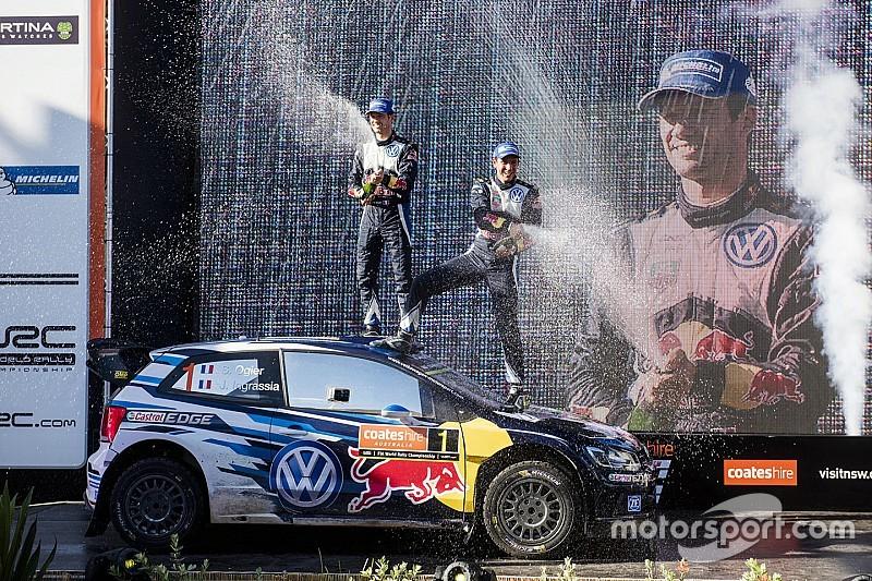 Volkswagen остается в WRC до 2020 года