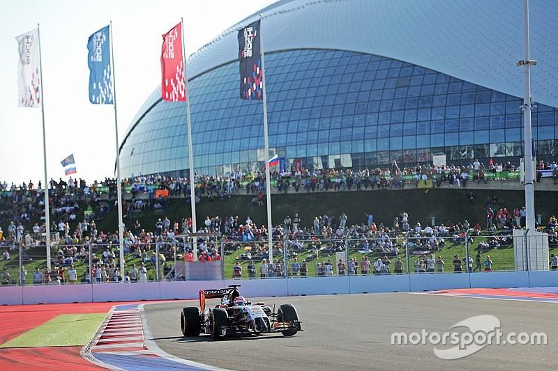 Il GP della Russia in esclusiva su Sky Sport F1 HD