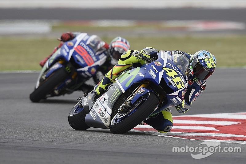 La lesión de Lorenzo en el hombro no cambia nada, dice Rossi