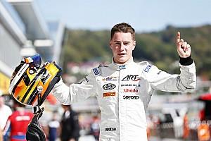 FIA F2 Rennbericht Richie Stanaway gewinnt GP2-Sprint in Sotschi, Stoffel Vandoorne den GP2-Titel