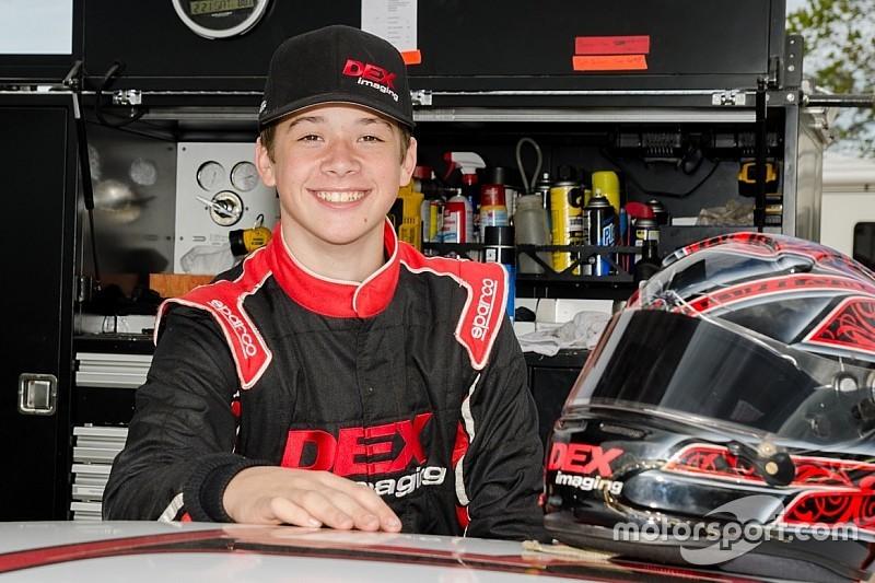 Jeff Burton's son Harrison to make NASCAR K&N debut
