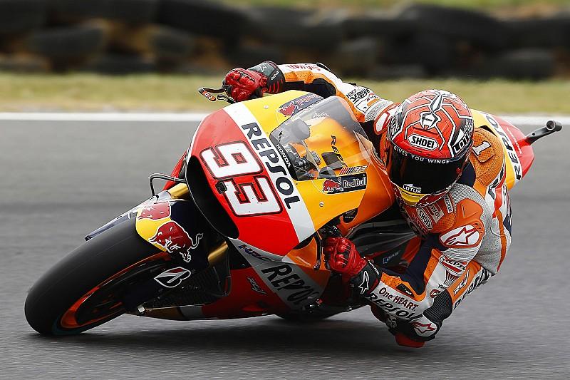 Phillip Island: Marquez flies in FP3, Rossi still struggles