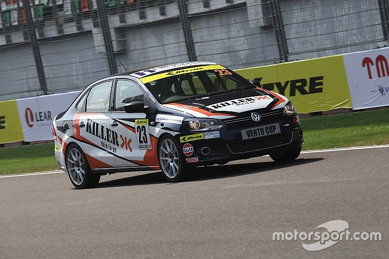 Singh extends his lead with a win in the second Vento race