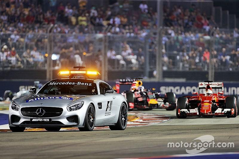 Singapore GP intruder goes back to jail