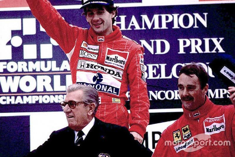 """Mansell recorda briga com Senna: """"me deu uns socos"""""""