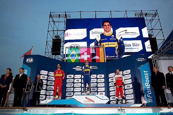 Formula E Buemi domina en la apertura de la Fórmula E