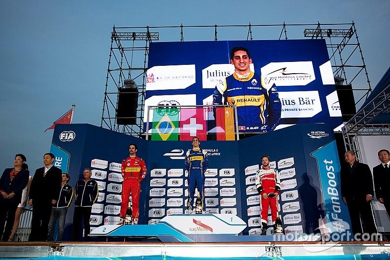 Buemi domina en la apertura de la Fórmula E
