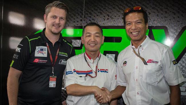 Accordo con la Honda per il DRIVE 7 SIC Racing