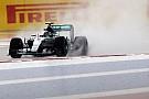 Qualifs - Nico Rosberg en trombe...d'eau!
