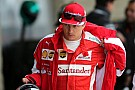 Räikkönen admitió que cometió un error