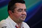Boullier: McLaren não quer dividir Honda com Red Bull