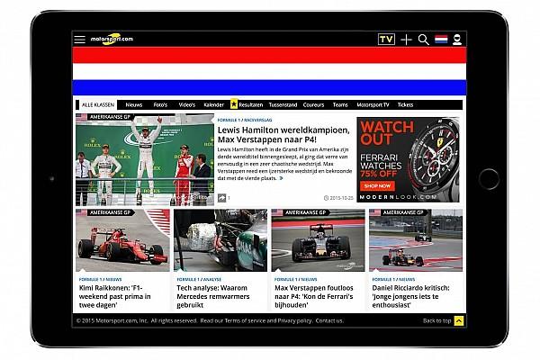 Motorsport.com espande la sua presenza in Europa con la nascita dell'edizione con base in Olanda