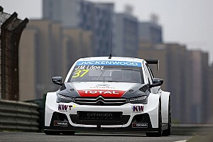 WTCC Preview Lopez willing to play the percentages to secure WTCC title