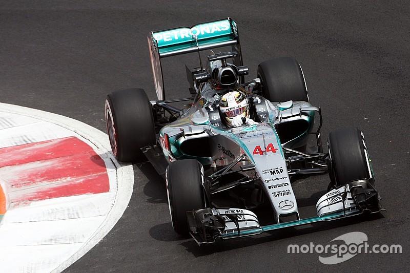 Para Hamilton, el trazado está 'alocadamente resbaloso'
