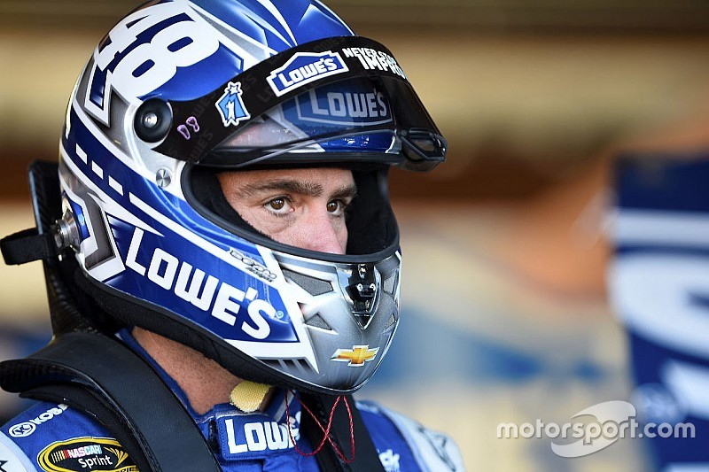Jimmie Johnson sets the pace in Happy Hour