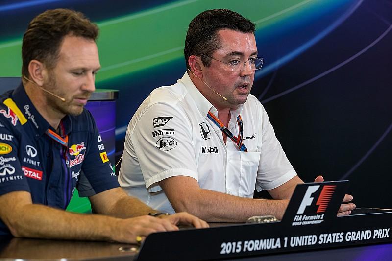 """McLaren y su veto a la unión Red Bull-Honda: """"No hacemos caridad"""""""