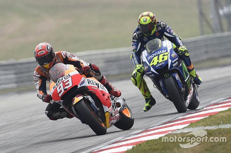 "Yamaha refutes Honda's claims: ""Rossi did not kick Marquez"""