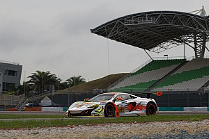 Asian Le Mans Race report McLaren GT factory driver Rob Bell helps secure victory in the heat of Sepang