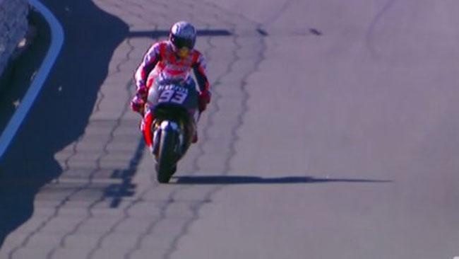 Valencia, Day 1, Ore 16: Marquez sulla Honda 2016