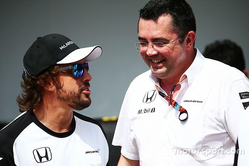 Boullier afirma que en McLaren siempre fueron claros con los pilotos