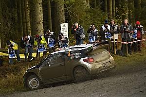 WRC 赛段报告 WRC英国站首日:奥吉尔领跑米克 拉特瓦拉退赛