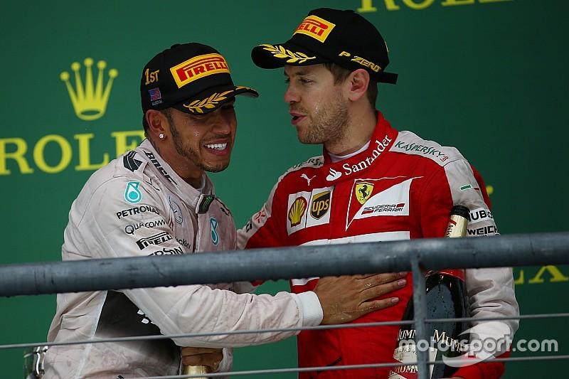 """Hamilton: """"Vettel ha battuto Webber e Kimi. Io Alonso!"""""""