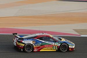 WEC Résumé de qualifications Chaud et froid pour Ferrari
