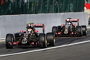 Fórmula 1 Noticias Maldonado no se imagina como el N°1 de su equipo