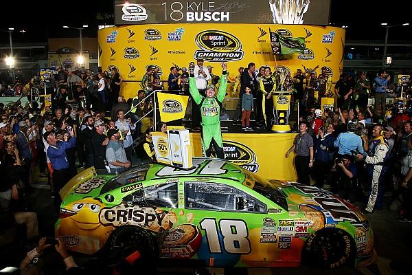 NASCAR Cup Kyle Busch trionfa ad Homestead ed è campione!
