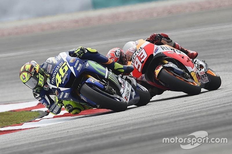 Valentino Rossi zou 'zeker gediskwalificeerd' zijn in de Formule 1