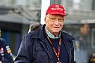 Para Lauda,  el motor estándar  podría destruir a la Fórmula 1
