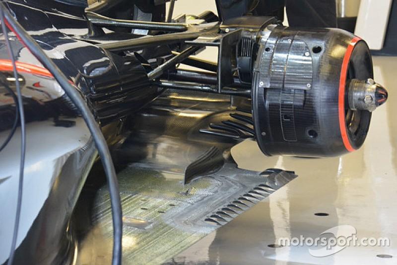 McLaren: nuova sospensione posteriore sulla MP4-30