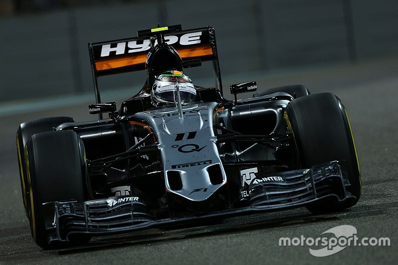 Perez races to fifth place ahead of Hulkenberg in seventh at the Abu Dhabi GP