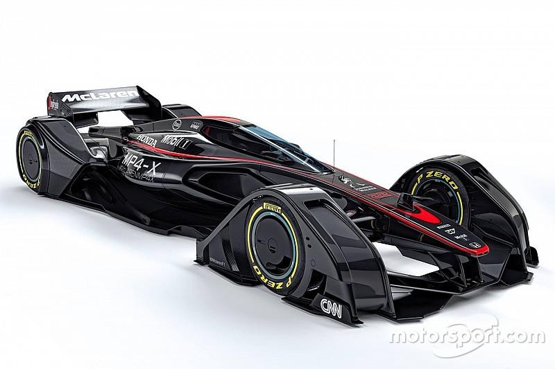 McLaren revela conceito de