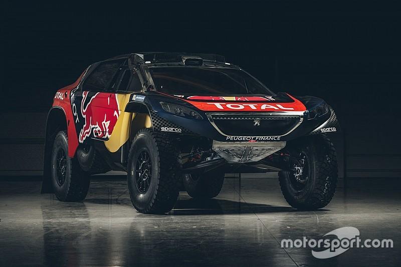 """В Peugeot показали ливрею машины для """"Дакара"""""""