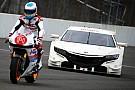 Алонсо прокатился на мотоцикле MotoGP