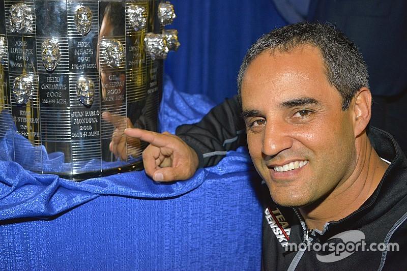 "Montoya apresenta ""novo rosto"" no troféu da Indy 500"